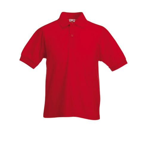 339a25e75d8 Fruit of the Loom Children's Pique Polo Shirt - Kids easycare pique ...
