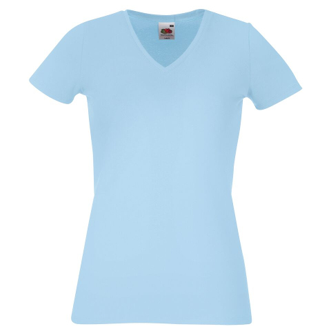 a8358dabf Fruit of the Loom Lady Fit V-Neck T-Shirt - Fruit of the Loom Ladies ...