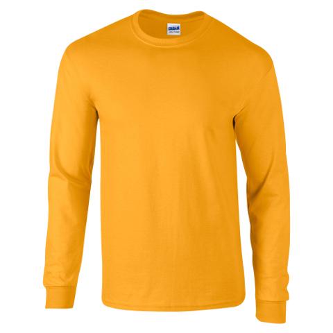 Gildan Mens Heavyweight Long Sleeve T-shirt - Premium Heavy Long ... d803f87f028