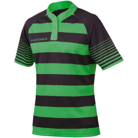 333c2dba2b7 KooGa Touchline Hooped Match Shirt