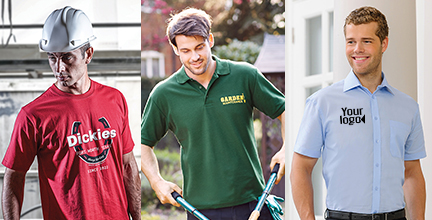 Men's workwear examples
