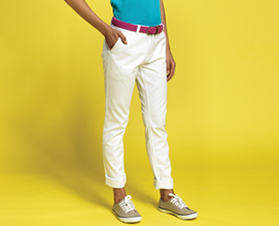 Colourful Chinos